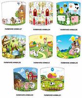 Lampshades Ideal To Match Farmyard Animals Duvets & Farm Yard Animals Wallpaper.