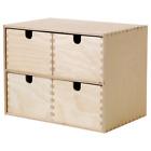 IKEA MOPPE Minikommode Schubladenelement Organizer mit Schubladen 29x18x22 cm