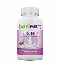 BariMelts B12 Plus Bariatric Vitamins Weight Loss Surgery Suppl... Free Shipping