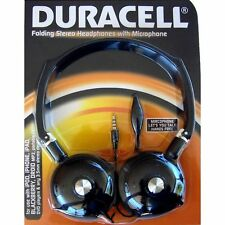 Duracell Folding Stereo Headset with Microphone (DU2501)