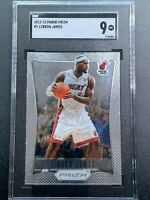 2012/13 Panini Prizm LeBron James SGC 9 Luka Ja Zion Jordan Kobe Heat Lakers