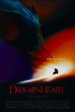 DRAGONHEART (1996) ORIGINAL MINI 11 X 17 MOVIE POSTER  -  ROLLED