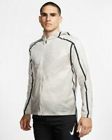Nike Tech Pack Men's Running Jacket Moon Particle/ Black New AQ6711 286 Size M