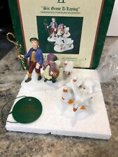 Department 56 Dept 56 #58382 Twelve Days Of Dickens Vi Six Geese A Laying Mib