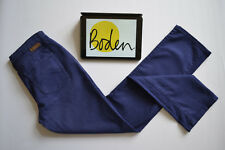 BODEN Vintage Purple Navy Straight leg Jeans Womens Sz. 10R W30 L30 Slim Fit