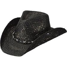NEW PETER GRIMM SAMBORA BLACK DRIFTER COWBOY HAT - ONE SIZE - FREE SHIPPING!