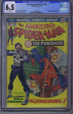 Amazing Spider-Man #129 Marvel 1974 1st Appearance Punisher ,CGC 6.5 (FINE +)