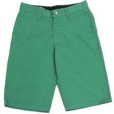 Men's Regular No Pattern Cotton Blend Chinos, Khakis Shorts