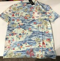 Polo Ralph Lauren Men's SZ S Hula Girl Tropical graphic Classic Fit SS T-shirt