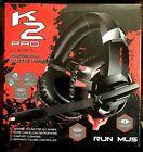 RUNMUS K2 Pro Gaming Headset - Black/Red Professional Gaming Headphones