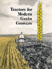 Caterpillar Tractors Grain Growers Booklet D6 D4 D2