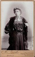 CDV Foto Feine Dame - Berlin 1900er