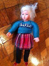 Puppenhaus 1:12 Mädchen Caco Puppenhauspuppe Puppe Puppenhauszubehör