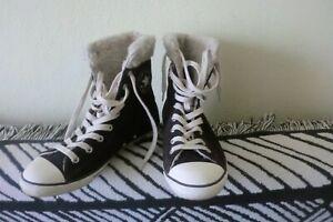 Converse ALL STAR Chucks Winter Leder Gr 40   UK 6