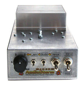 AudioStorm HotBox 125i Inductive Power Attenuator for valve / tube guitar amp.