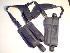 """LEFT Hand Draw VERTICAL Shoulder Holster DESERT EAGLE 6"""" barrel w/ muzzle brake"""