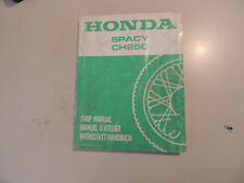 Werkstatthandbuch Honda CH 250 Spacy ab 1985  work shop manual Manuel d`atellier