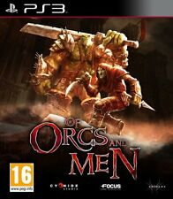 PS3 Spiel Of Orcs and & Men für Sony Playstation 3 NEUWARE