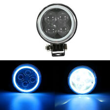 BLUE 12W 12V 4D Round Epistar LED Work Light Spot Offroad Driving Fog Lamp ATV