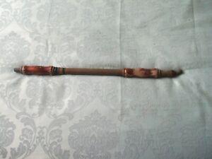 SOLO Antique Brass / Wood Garden Pump Spray