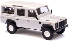 Busch 50300 Land Rover Defender white HO Scale Model Vehicle