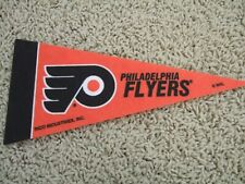"Philadelphia Flyers Nhl Hockey Team Mini 9"" Souvenir Felt Pennant Flag New"