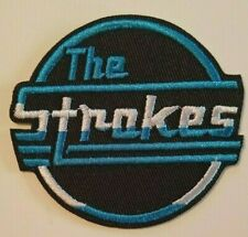 """The Strokes~NYC Rockers~Embroidered PATCH~2 7/8"""" x 2 5/8""""~Iron On Sew On~Collect"""