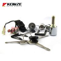 Lock Cylinder & Key Set For Mitsubishi Pajero Monetro 2nd 4G54 4D56
