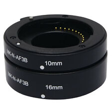 Meike N-AF3-B Auto Macro Focus AF Extension Tube Ring Set Adapter for Nikon J1