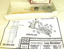 Log Skidder Kit Bausatz ungebaut Scale Structures Limited 11181 H0 1:87 OVP å √