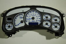 00-02 REMAN HD2500 TRUCK SPEEDOMETER WITH WHITE GAUGE FACE CLUSTER *$100 REBATE*