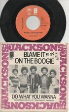 """THE JACKSONS   Rare 1978 Holland Only 7"""" OOP P/C Single """"Blame It On The Boogie"""""""