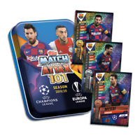 2019-20 TOPPS MATCH ATTAX 101 MINI TIN 45 CARDS LIMITED MESSI CARD