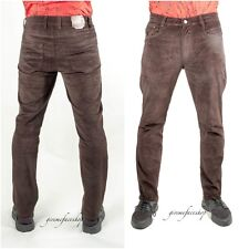 Mens corduroys, Peviani star cords, straight fit trousers 3 colours, brown cords