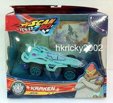 New Boy Scan2Go Kraken Jelok Racer + Power Card & Turbo Card Figure Pack