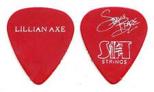 Lillian Axe Stevie Blaze Signature Red Guitar Pick 1993 Psychoschizophrenia Tour