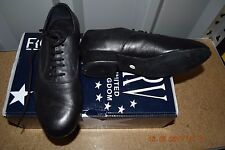 BLACK Roch Valley MEN'S allevamenti Sala da Ballo/Latino Scarpe Da Ballo Bambino-Tg UK 1
