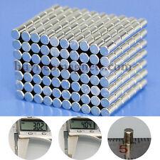 100pcs N50 Rod Magnets 3mm x 4mm Small Rare Earth Neodymium Magnets Super Magnet