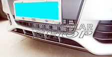 CARBON FIBER FRONT LIP SPOILER VALANCE ADD CENTRAL For AUDI A4 B8 08-12 A018