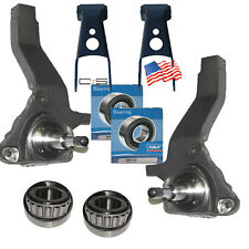 "Ford Ranger Lift Kit 4"" Front Spindles 2"" Rear Shackles 1998 - 2000 4x2 Truck"