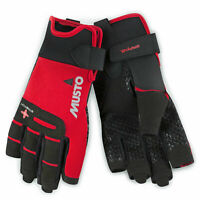 Musto Performance Short Finger Sailing Gloves True Red All Sizes