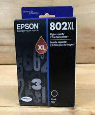 Epson DURABrite 802XL (T802XL120-S) Ultra Black Ink Catridge