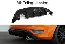 Heckansatz Heck Schürze Spoiler Diffusor Ford Focus MK2 ST für Facelift RS Look