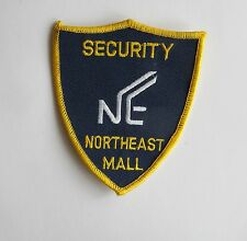 NORTHEAST MALL SECURITY APPLIQUE PATCH