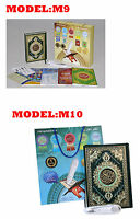 Digital Holy Quran Reading Pen Tajweed Colour Coded 5 Books A4 8GB + FREE TASBIH