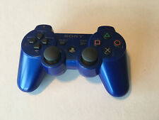 Genuine OEM Playstation 3 Wireless Controller PS3 Midnight Blue **TESTED**