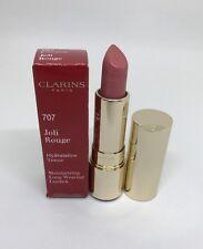 Clarins Joli Rouge Moisturizing Long Wearing  Lipstick 707 Petal Pink New