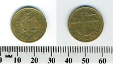 Barbados 2004 - 5 Cents Brass Coin - South Point Lighthouse