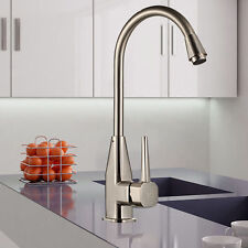 Stainless Steel Hot&Cold Mixer Water Taps Basin Kitchen Wash Basin Faucet + Hose