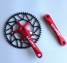 Road Folding Bike Crank arm 170mm Crankset Narrow Wide Chainring 50/52/54/56/58T